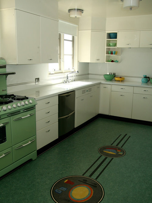 Retro Linoleum | Houzz