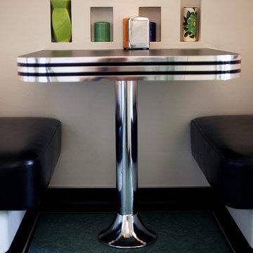 Retro Diner Booth