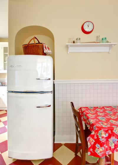diese k che in portland ist retro aber keineswegs von gestern. Black Bedroom Furniture Sets. Home Design Ideas