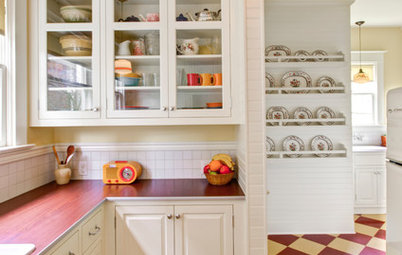 Kitchen of the Week: Cheery Retro Style for a 1913 Kitchen