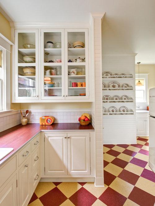 Retro Kitchen Flooring Houzz
