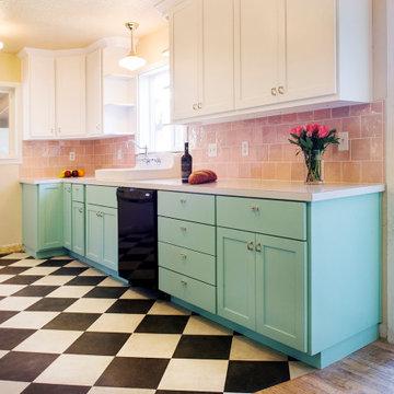 Retro Kitchen Renovation - AFTER
