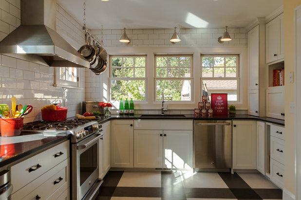 8 Inventive Kitchen Floor Treatments
