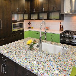 Retro Modern Kitchen Design - Vail Colorado
