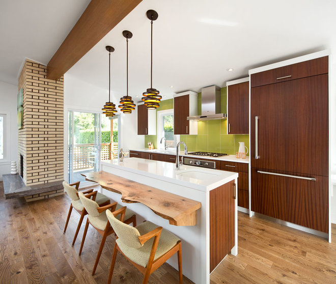 Houzz Tour Dancing To The 1970s In An Updated Vancouver Home