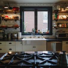 Eclectic Kitchen by Eagleview Construction