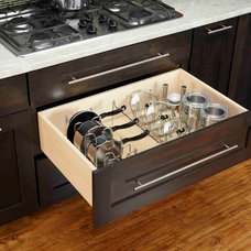 Transitional Kitchen by Rev-A-Shelf LLC
