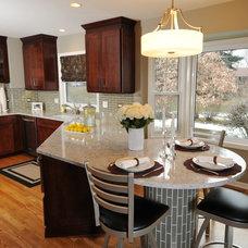 Modern Kitchen by The Kitchen Studio of Glen Ellyn