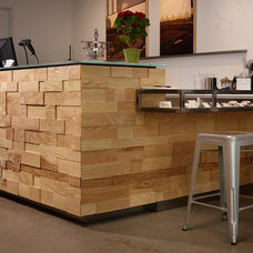 Contemporary Kitchen by Where Wood Meets Steel