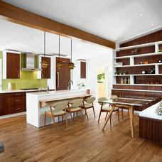 Midcentury Kitchen by Best Builders ltd