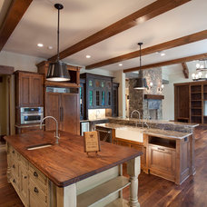 Traditional Kitchen by Michelle Tumlin Design