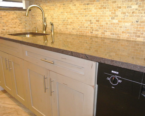 painted white cabinets houzz