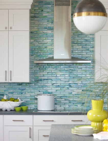 Beach Style Kitchen by Rachel Reider Interiors