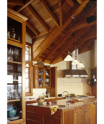 Traditional Kitchen Rhodes Architecture + Light
