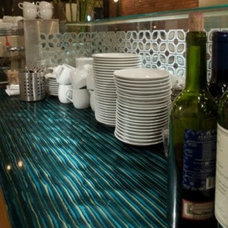 contemporary kitchen countertops by Interstyle