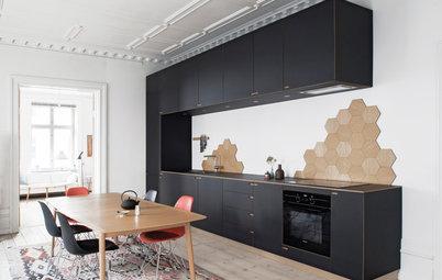 10 astuces déco pour pimenter une cuisine noire et blanche