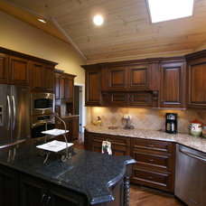 Traditional Kitchen by Life-Style Design, LLC