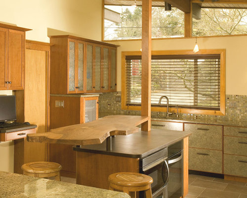 Wood Slab Home Design Ideas, Pictures, Remodel and Decor