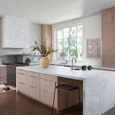 Mediterranean Kitchen by Ryan Street & Associates