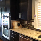 kitchen sink with backsplash belfast residence modern kitchen cincinnati by 6039