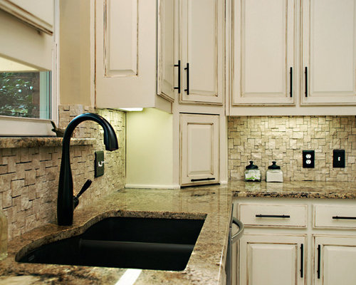Ledge Stone Backsplash Home Design Ideas Pictures