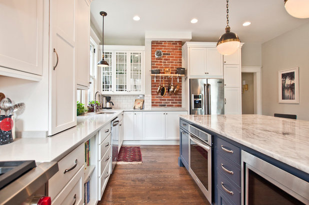 Beautiful Farmhouse Kitchen by Terri Sears Kitchen and Bath Designer