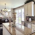 Freestanding Kitchen Cabinets Traditional Kitchen