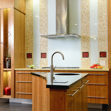 Contemporary Kitchen by Carson's Cabinetry & Design