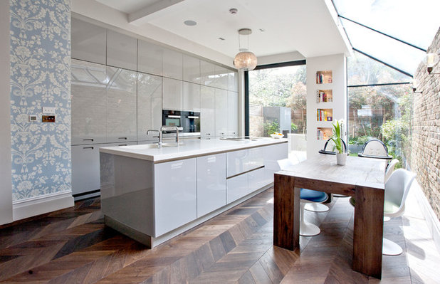 Modern Kitchen by A1 Lofts along with also Extensions