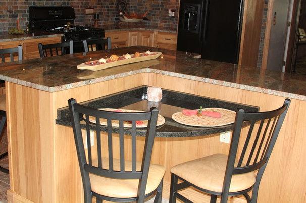 Traditional Kitchen Ricki Vaughn
