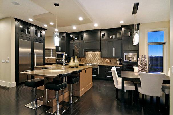 Contemporary Kitchen by Jordan Lotoski