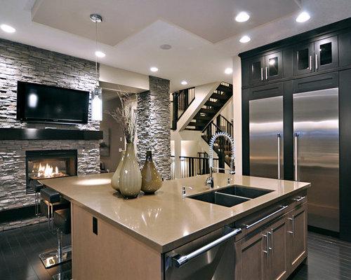 Best 30 Modern Calgary Kitchen Ideas Remodeling Photos Houzz