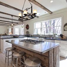 Transitional Kitchen by Sage Designs
