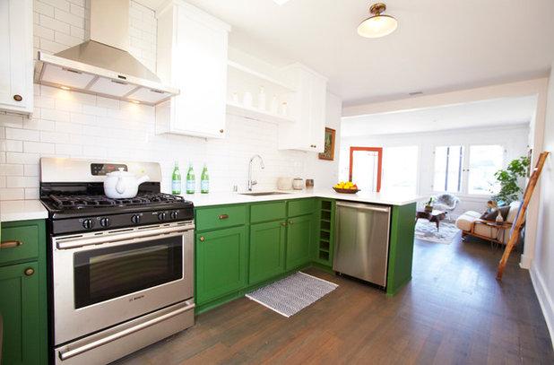 gr ne k chen gestalten 11 ideen. Black Bedroom Furniture Sets. Home Design Ideas