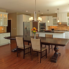 Traditional Kitchen by Ridge Creek Custom Homes