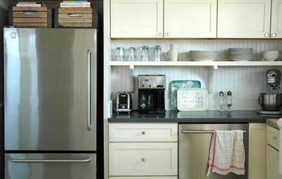 Trick Out Your Kitchen Backsplash for Storage and More