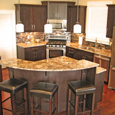 Contemporary Kitchen by Rimrock Cabinet Co.
