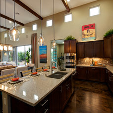 Mediterranean Kitchen by Dorn Homes