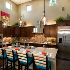 Transitional Kitchen by Dorn Homes