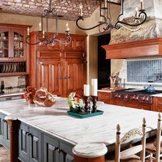 Traditional Kitchen by RJ Aldriedge Companies Inc
