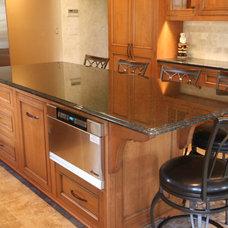 Traditional Kitchen by Mitchells Woodworking & Design LLC