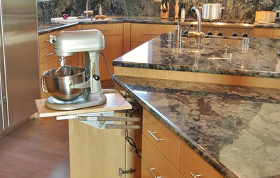 Kitchen Design: Baking Stations Make Cooking More Fun