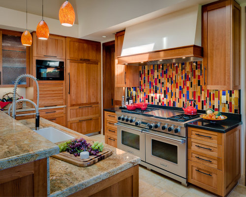 Southwestern kitchen design ideas remodels photos for Southwestern kitchen designs