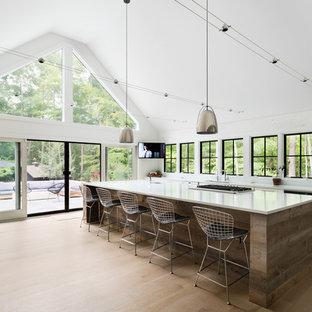 Landhausstil Küche in New York