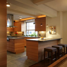 Modern Kitchen by Rodriguez Studio Architecture PC