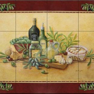Rita Broughton - Kitchen Backsplash Tile Murals