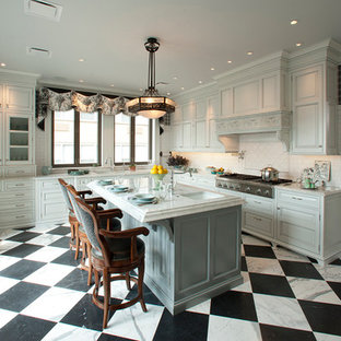 Black And White Checker Floor Kitchen Ideas Photos Houzz