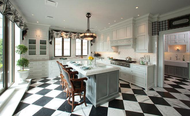 Traditional Kitchen by Berzinsky Architects