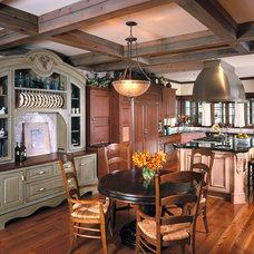 Traditional Kitchen by Vujovich Design Build, Inc.