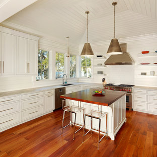Square Kitchen Island | Houzz